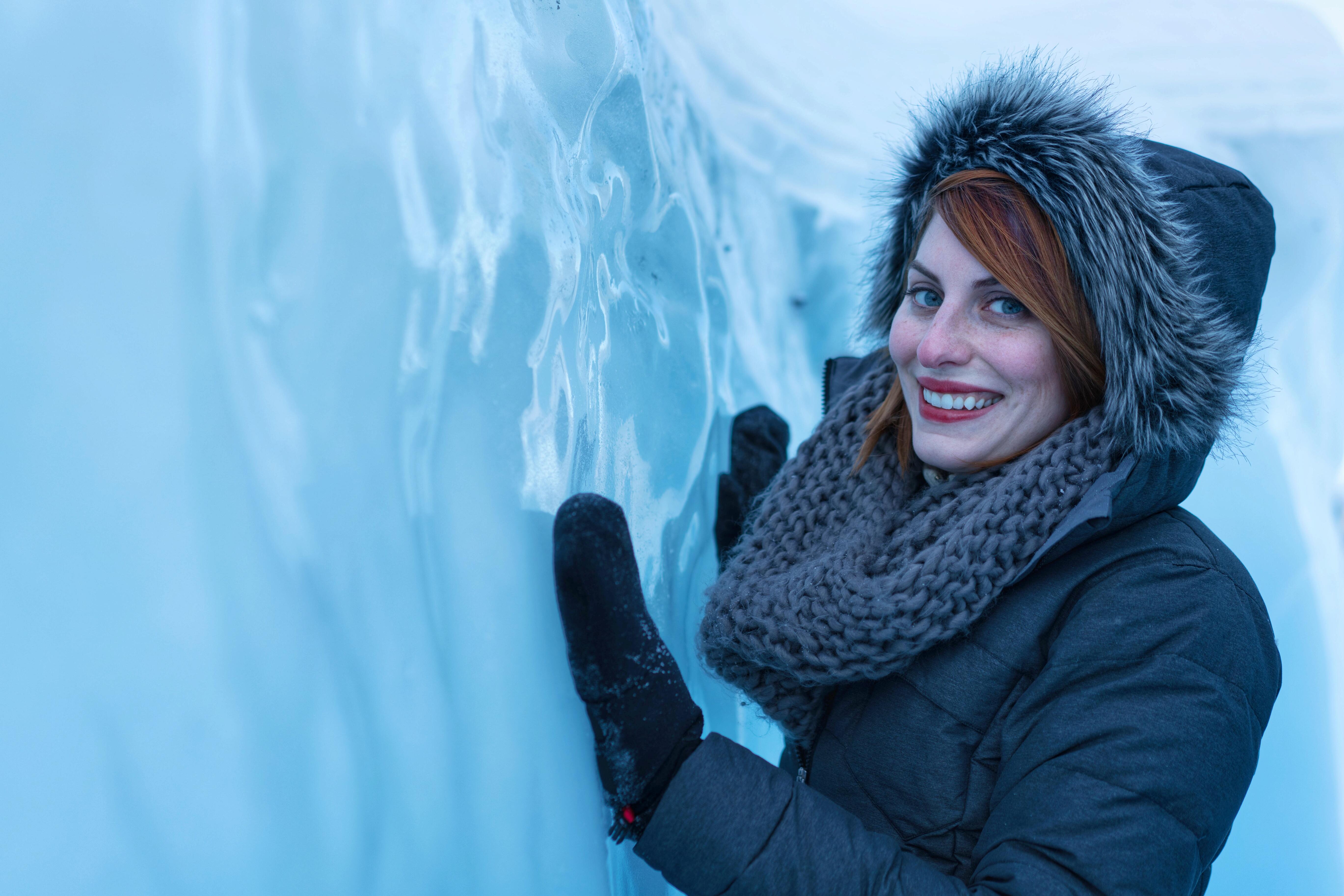 Delphia McCarty Matanuska Glacier